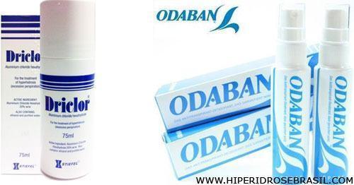 desodorante para hiperidrose